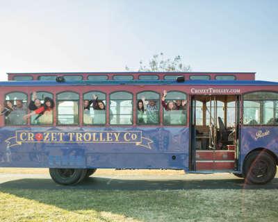 Crozet Trolley spirits loop tour